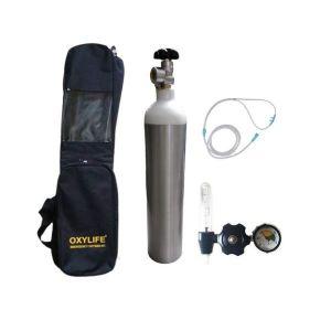 Portable Oxygen cylinder Kit - Oxylife 3.1 Kit with Fa Valve