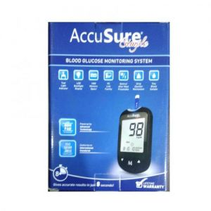 AccuSure Simple Blood Glucose Monitoring System