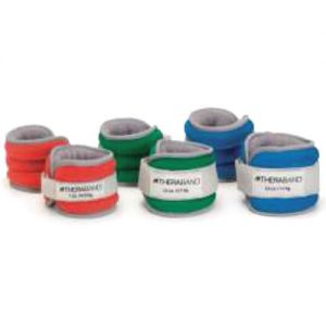 ANKLE & WRIST WEIGHTS - COMFORT ANKLE WEIGHTS BLUE 5 LB (1.1KG EACH)