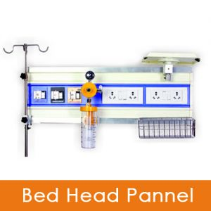 Bed Head panel double railing