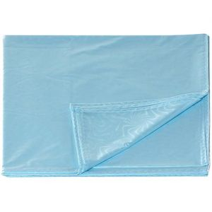 Blue Bed Sheet (Size: 60*90 )