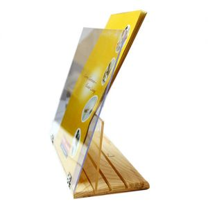 Book Holder Acrylic support