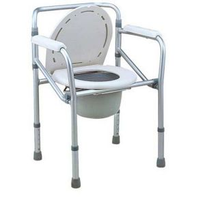 Commode Chair Steel Height Adjustment