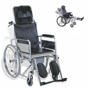 Commode Wheel Chair Reclining RH-609-GC