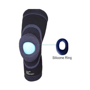 Knee Support Open Patella With Silicone