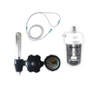 FA valve with flowmeter, Humidifier Bottle & Nasal Cannula (Adult)