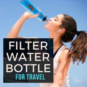 Bugota Filter Water Bottle
