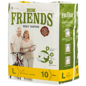 Friends Adult diaper - XL