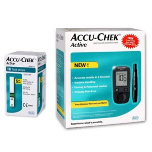 glucometer with test strip kit