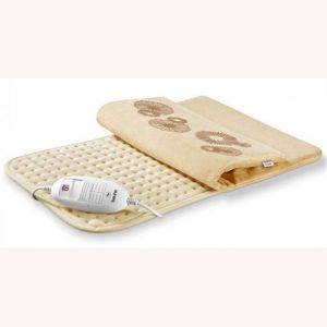 Heating pad with soft surface