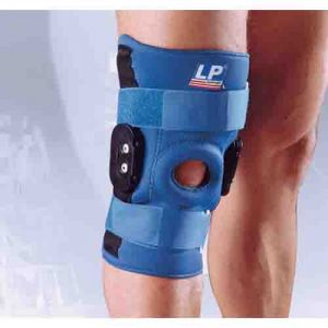 LP Hinged Knee Stabilizer Neoprene, XL (Blue)