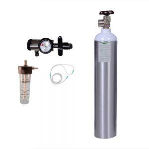 Oxygen Cylinder kit - Oxylife 9.1 Kit (1365 Liters)
