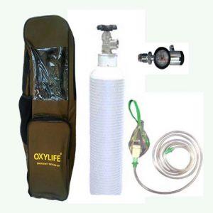 Oxylife oxygen 3.1 ltrs kit cylinder