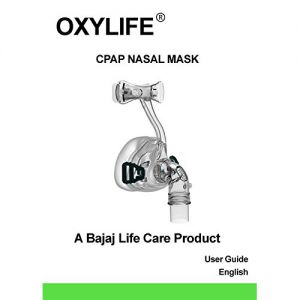 Oxylife CPAP/BIPAP Nasal Mask Large Size with Headgear