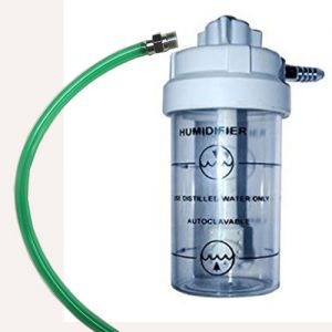 Humidifier Bottle with Adapter for Philips Everflow oxygen concentrator