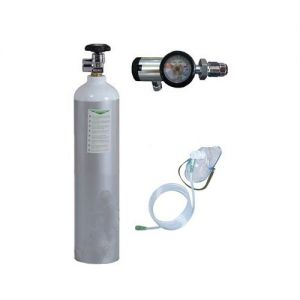 Portable Oxygen Kit - Oxylife 4.5 Kit (Cylinder with Imported Click type Regulator)