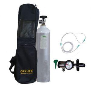 Portable Oxygen Kit - Oxylife 4.5 Kit (675 Liters Medical Oxygen Cylinder Kit)