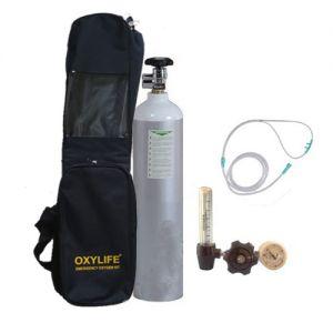 Portable Oxygen Kit - Oxylife 4.5 (675 Liters Oxygen Cylinder Kit)