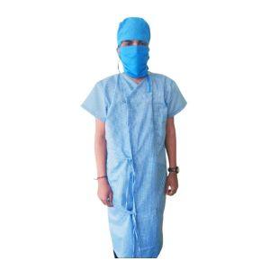 Patient Gown - Front tie