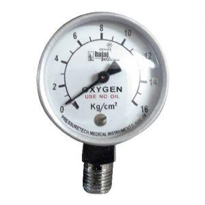 Pressure-Gauge-Oxygen-50-mm-Dia-0-16-Kg-Cm2