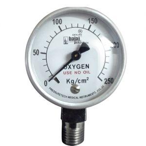 Pressure-Gauge-Oxygen-50-mm-Dia-0-250-Kg-cm2