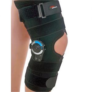 ROM Knee Brace Wrap Around Easy-Fix neoprene XL