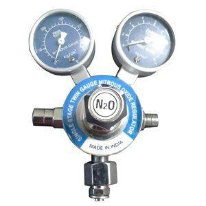 Single-Stage-Twin-Gauge-Nitrous-Oxide-Regulator