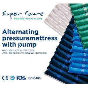 Tubular Alternating Pressure mattress with Pump