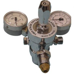 Two-Stage-Two-Gauge-Oxygen-Regulator