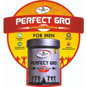 Mushroom Valley Perfect Gro Ayurvedic Powder For Men (100 grm.)