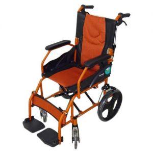 Aurora-5 Foldable Back & Footrest Wheelchair