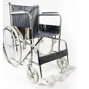 Wheelchair - Folding - Steel