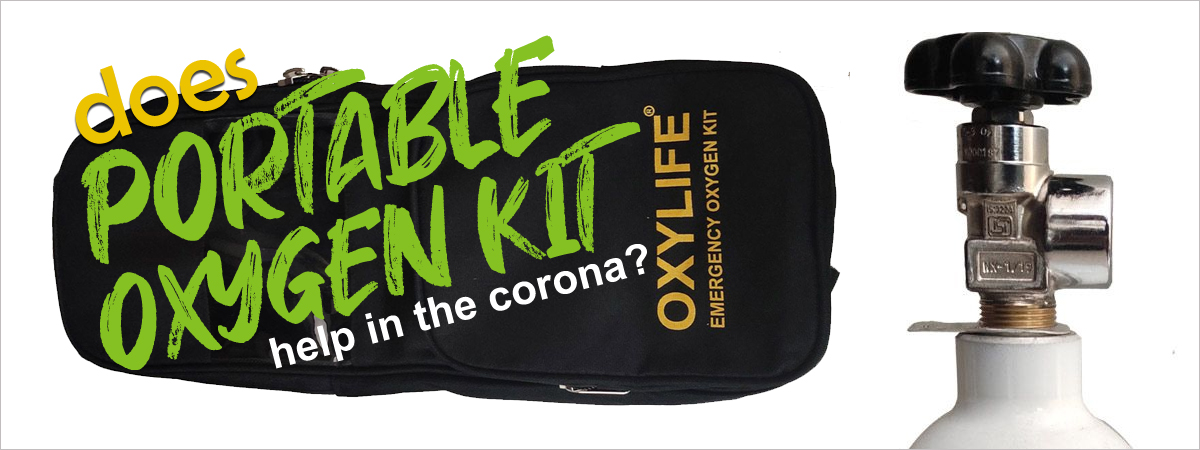 Does Portable Oxygen Kit helps in Cororna?